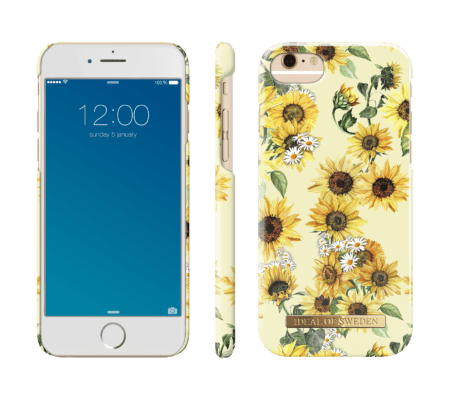 IDEAL FASHION CASE IPHONE 6/6S/7/8 SUNFLOWER LEMONADE