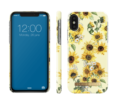 IDEAL FASHION CASE IPHONE X/XS SUNFLOWER LEMONADE